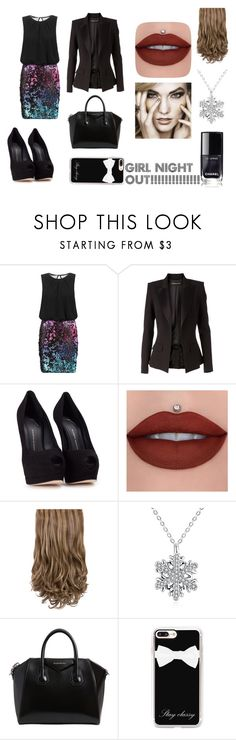 """""""Girls NIGHT OUT!!!!!!!!!!!!!!!!"""" by emma-387 ❤ liked on Polyvore featuring Laona, Alexandre Vauthier, Giuseppe Zanotti, Givenchy and Casetify"""