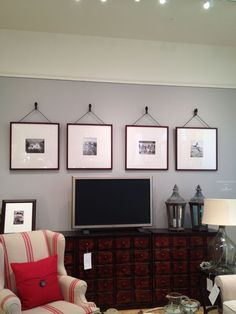 Pottery Barn Oversized picture frames Maybe over the tv in the master?