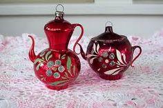 Vintage ornaments;