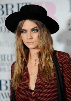 At the Brit Awards, Cara Delevingne Hits the Red Carpet and Kanye Debuts a New Track