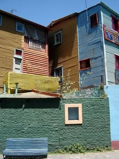 La Boca, just 20 minutes away from El Pasaje Spanish School, is one of the oldest, most interesting neighborhoods in the city. http://www.elpasajespanish.com/