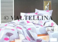 Valtellina Leaf Print Cotton Bedsheet for your beautiful Home.!