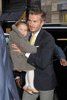 As she celebrates her third birthday, take a look back at Harper Beckham's life in pictures.