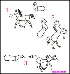 for Edgar Degas horses HOW TO DRAW ANIMALS : Easy step by step instructions on how to draw animals.