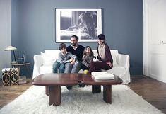 Chez Jacques et Dorothée Monestier, Jules 7 ans et Louison 4 ans   The Socialite FamilyThe Socialite Family