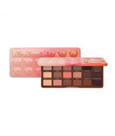 Sweet Peach Eye Shadow Collection from Too Faced | Find more cruelty-free beauty @Quirkist |