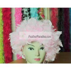 GA,USA Green Chandelle Feather Costume Wig Saint Patrick/'s Day Wig Halloween
