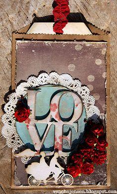 dinfantasi.no: LOVE - bryllupskort