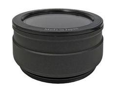 Epoque M50 Flat Macro Lens Port for Epoque ERX SLR Underwater Housings, (Comp...