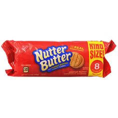 Delicious peanut buttery cookies are ready for snacking! Large single-serving packs of Nutter Butter sandwich cookies are perfect for family snacking or taking to parties, and also great for crushing
