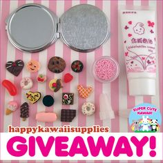 Happy Kawaii Supplies Decoden Giveaway
