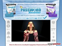 awesome #Windows Password Recovery Software For XP, Vista, 7 and 8!  | PasswordResetter.com