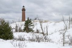 Little Sable Winter -- Silver Lake State Park - Mears, Michigan