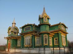 Russian Wooden House ~ Gorokhovets City, Vladimir Region--outside of Moscow