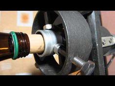 Máquina Corta-Botellas Automática ERP-VP.0001 (Automatic Machine Cuts Bottles ERP-VP.0001) - YouTube