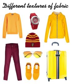 """Разноцветные фактурные базовые вещи"" by annavodopyanova on Polyvore featuring мода, J Brand, adidas Originals, Tommy Hilfiger, Invicta и Calvin Klein 205W39NYC"