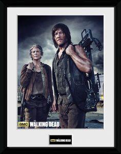 Walking Dead - Carol and Daryl - Big Framed Collector Print