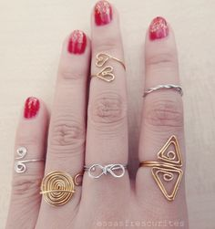 DIY Rings to inspire #Nykstyle