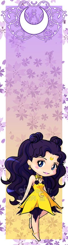 Luna bookmark by Marc-G.deviantart.com on @deviantART