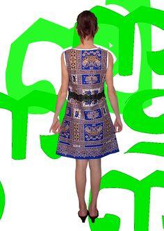 Robe en batik en vente sur: mm-creations-encorewhat.com