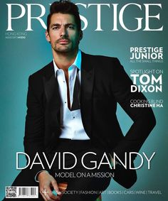 New cover and editorial! David Gandy for @Prestige_HK  by @mikeruiz1