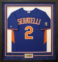 e057e4b13cd5 Kansas City Royals Seratelli Baseball Jersey with name plate. Designed and  custom framed at My. Basketball ...