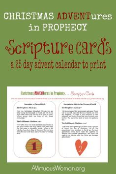 Perfect Advent devotions for those in the Fulfillment of Prophecy class at First Trinity!