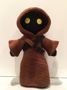 Jawa - Star Wars, La Fée Crochette Grátis, francês / Free pattern, French