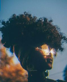 Afro hair is typically associated with natural curls that have a thick, frizzy texture. My Hairstyle, Afro Hairstyles, American Hairstyles, Black Hairstyles, Black Girl Magic, Black Girls, Black Power, Curly Hair Styles, Natural Hair Styles