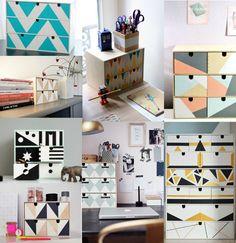 Żyj | Kochaj | Twórz: Ikea moppe: 32 sposoby na komódkę