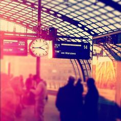 Berlin. my heart. i miss last summer. so much of my time was spent in these train stops..