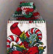 Holiday Crochet Pattern- Towel Topper.