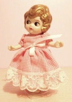 Charlotte in a pretty pink dress