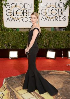 Actress Emma Roberts attends the 71st Annual Golden Globe Awards held at The Beverly Hilton Hotel on January 12, 2014 in Beverly Hills, California.
