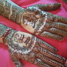 17 Best Rajasthani Mehndi Designs for Hands - Mehndi YoYo Rajasthani Mehndi Designs, Dulhan Mehndi Designs, Mehendi, Hand Mehndi, Mehndi Designs For Hands, Hand Tattoos, Groom, Design Inspiration, Bride
