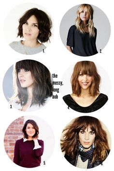 The Messy, Long Bob