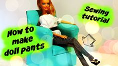 How to make doll pants