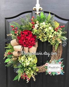 NEW Christmas Wreaths Wreath for Christmas Farmhouse