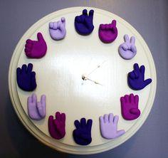Оригинальные часы — вдохновение в каждой минуте - Ярмарка Мастеров - ручная работа, handmade