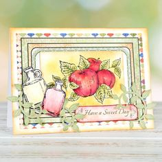 Embellish your cards with rustic bottles with the @hcofficial Farmers Market Collection. Shop now: http://www.createandcraft.tv/pp/heartfelt-creations-farmers-market-die%2c-paper-collection-cling-stamp-set-349143?fh_location=//CreateAndCraft/en_GB/$s=farmers%20market #cardmaking #papercraft