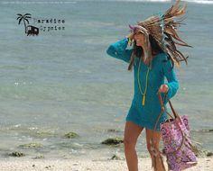 Gold Metallic Leather Brown & Turquoise Mixed by ParadiseGypsies, $165.00