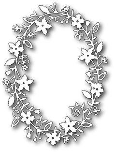 Memory Box Fairytale Flower Frame Die (MBOX-99067)