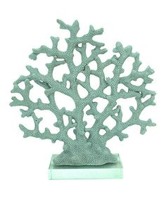 Loving this Miniature Teal Coral on #zulily! #zulilyfinds