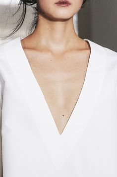 Sleek v neck