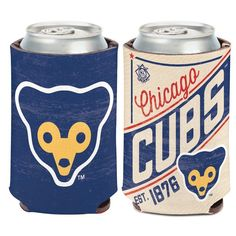 Chicago Cubs Cooperstown Can Kaddy Coozie Cooler  #ChicagoCubs #Cubs #FlyTheW #MLB