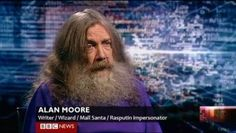 Finally, if you still think your job title is better, Alan Moore would like a word with you. (I only pinned this for you because of Alan Moore, not because your job title isn't cool :) My Tumblr, Tumblr Funny, Funny Memes, All Meme, Rasputin, Internet, Just For Laughs, Laugh Out Loud, The Funny