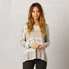 prAna Womens Adelaide Sweater Small Stone *** Check out this great product.