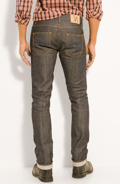 after a month of bootcamp...maybe we can fit theses Nudie 'grim tim' Jeans from Norstrom