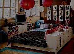 Bedroom Design Ideas for a Teenage Girl 2014 Wallpaper