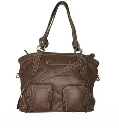 Brown leather tote bag leather handbag leather by ChicLeather